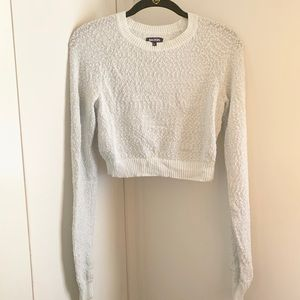 Nordstrom sweater crop top